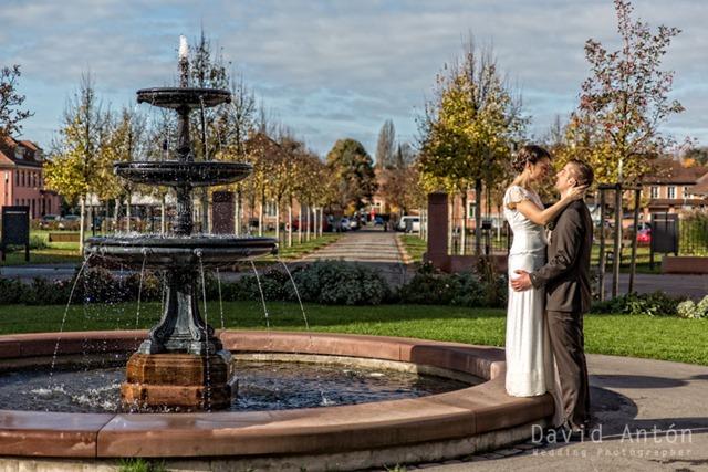 Hochzeitsfotos in Illenau in Achern  David Anton