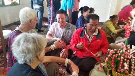 Village baci ceremony