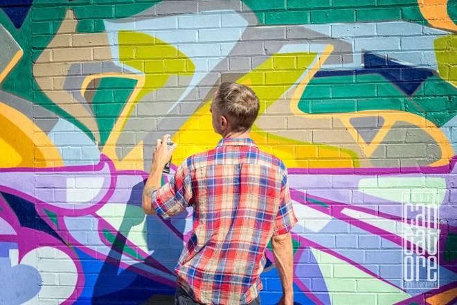 Street Art in Progress