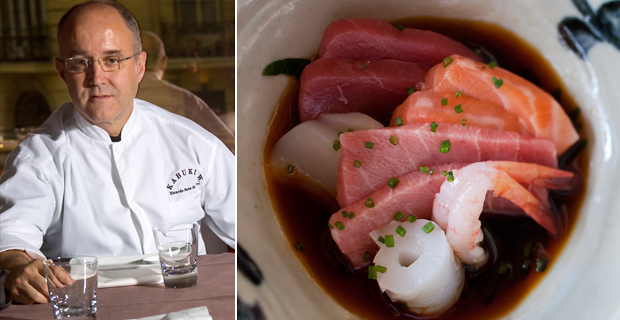 Ricardo Sanz chef cuatro estrellas Michelin Grupo Kabuki