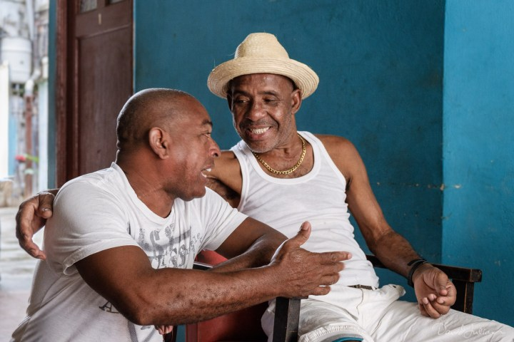 William the Painter and friend, Havana