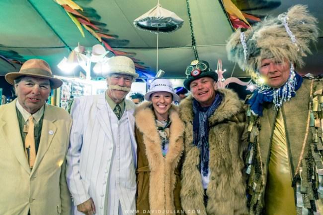 A group of beauties at Burning Man 2015