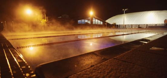 Outdoor swimming pool at Finchley