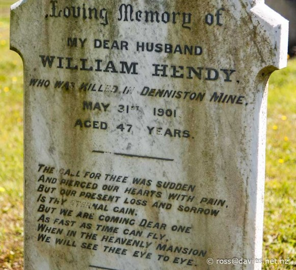 Waimangaroa - Denniston cemetery