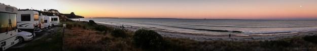 Pukehina Beach Panorama