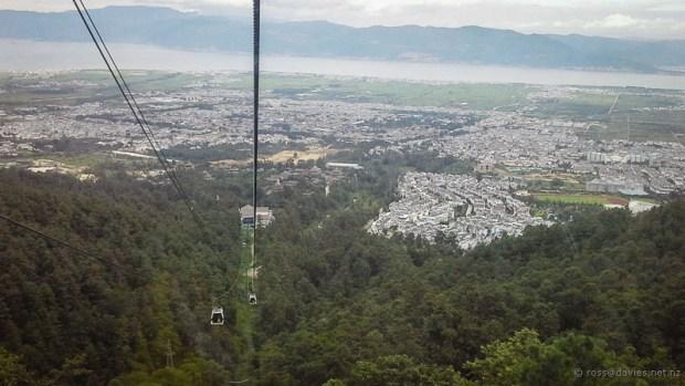 Gondola back down to Dali