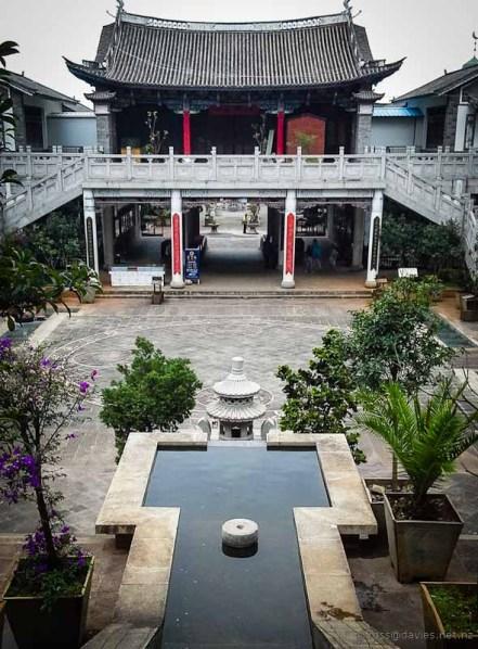 Dali old town temple