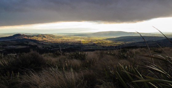Taieri Plains from Flagstaff