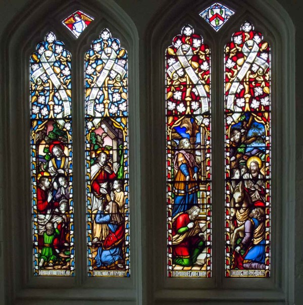 Windows Truro Cathedral Cornwall