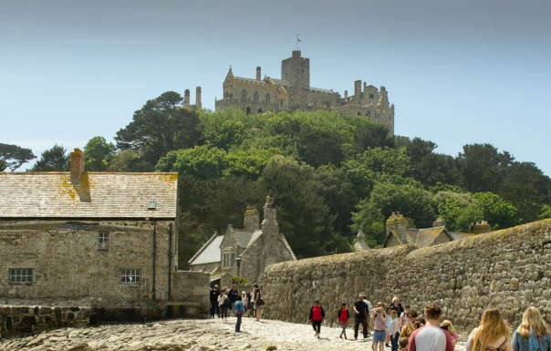 The castle at St Michael's Mount