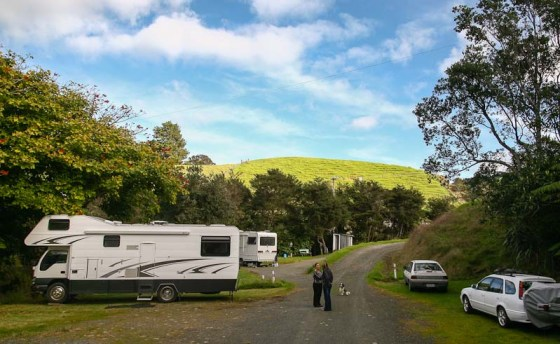 Parked up near Kaiaua