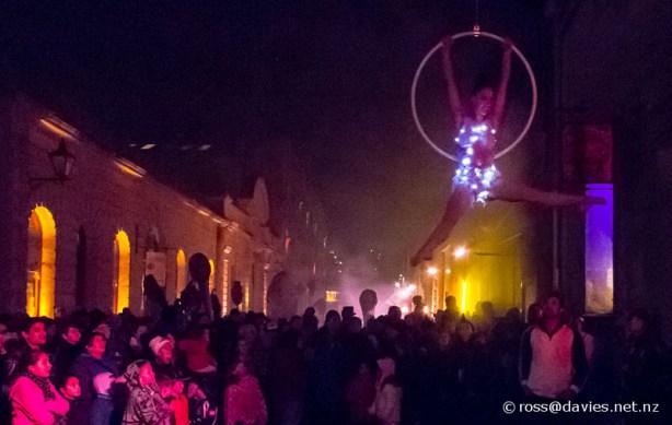 Oamaru On Fire festival Harbour Street