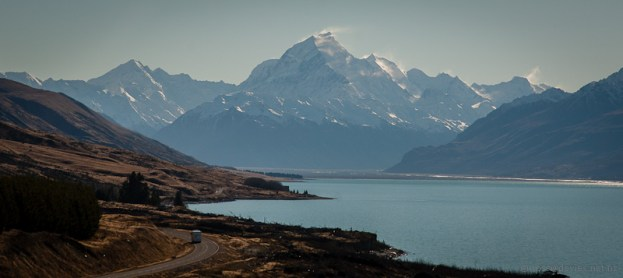 Mt Cook from beside Lake Pukaki