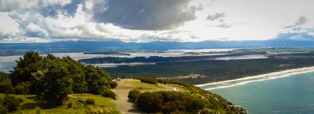 North from Mount Maunganui to Matakana Island