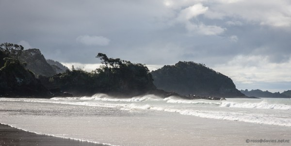 After the storm at Sandy Bay
