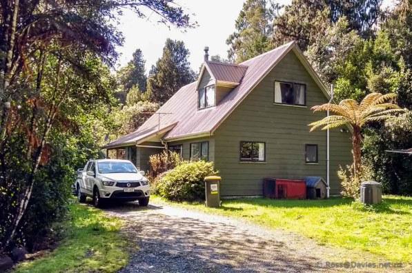 Holiday house at Lake Kaniere