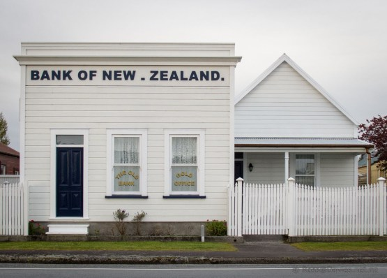 The old BNZ in Kumara