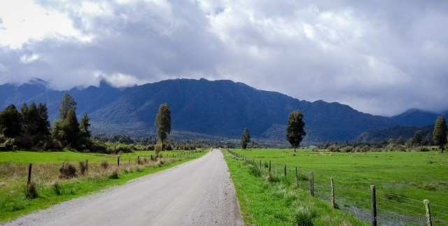 Heading up the Arahura Valley