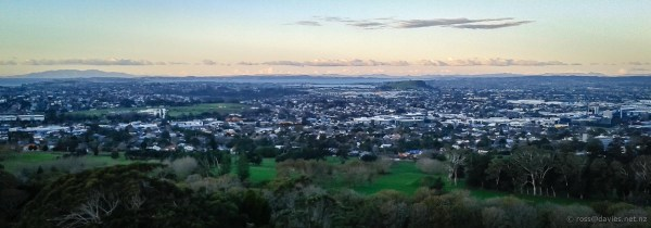 Auckland from One Tree Hill