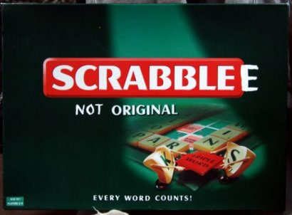 The Official Scrabblee box
