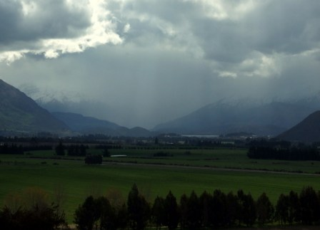 Towards Wanaka