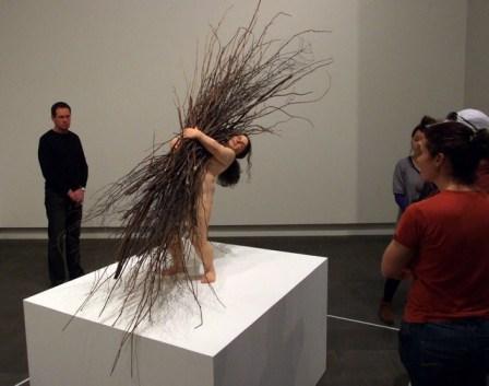 Ron Meuck sculpture