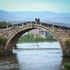 Old bridge Sideng Village Shaxi