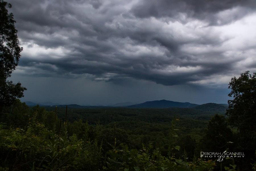 Ashville Morning Storm over the Biltmore Estate-2