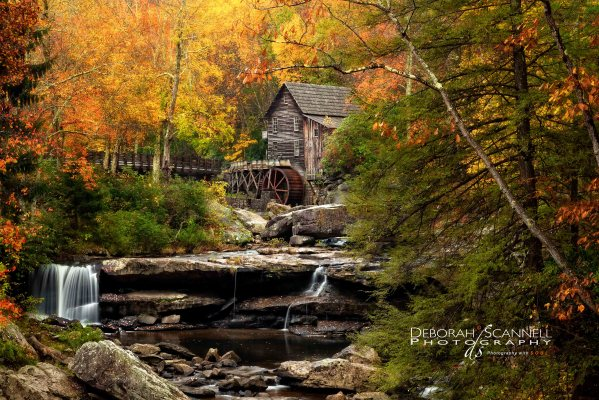 Autumn Bliss at the Babcock Mill