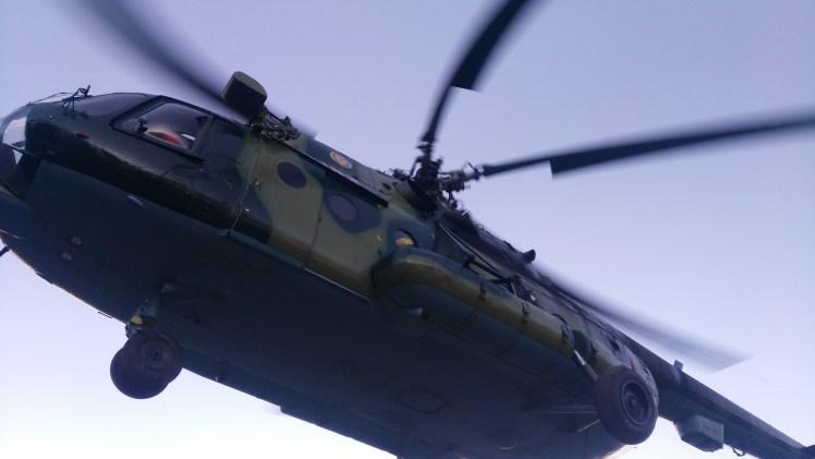 ana kampa ulaştıran helikopter (2)
