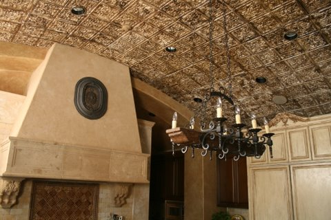 Decorating a Barell Kitchen Ceiling in Houston