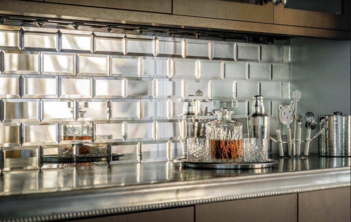 10 bold bar backsplashes we love
