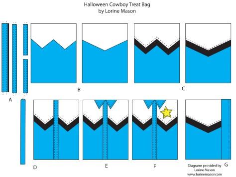 Cowboy Treat Bag