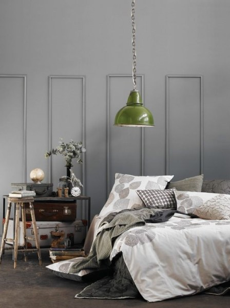 industrial grey bedroom The new yellow and grey? - Decorator's Notebook