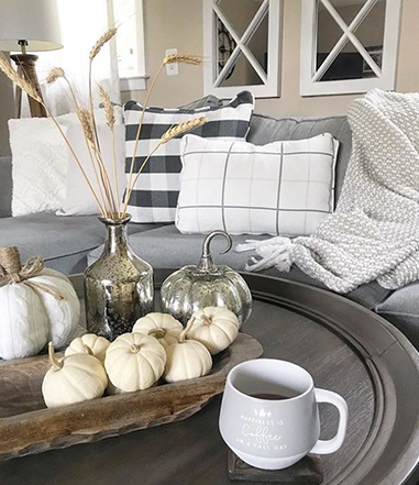 coffee table decor ideas under 100
