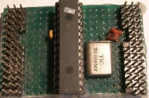 Placa PIC con oscilador externo
