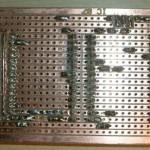 Paso 2 en la construcción de placa entrenadora 30F4012