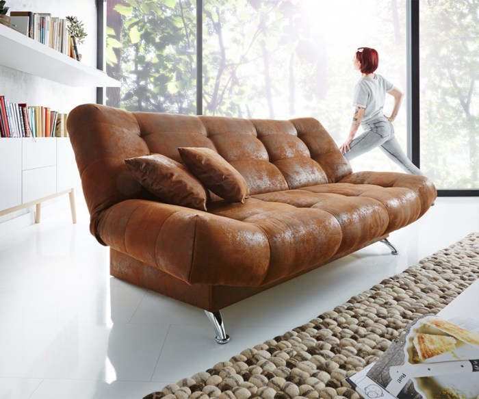 Schlafsofa Viol Antik Optik