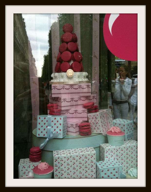 laduree window display