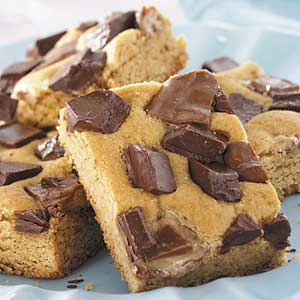 Blond Butterscotch Brownies