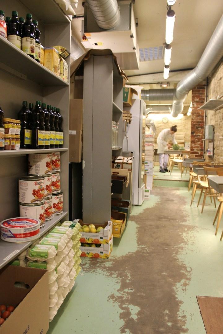 ROSE BAKERY INSIDE STORE PARIS