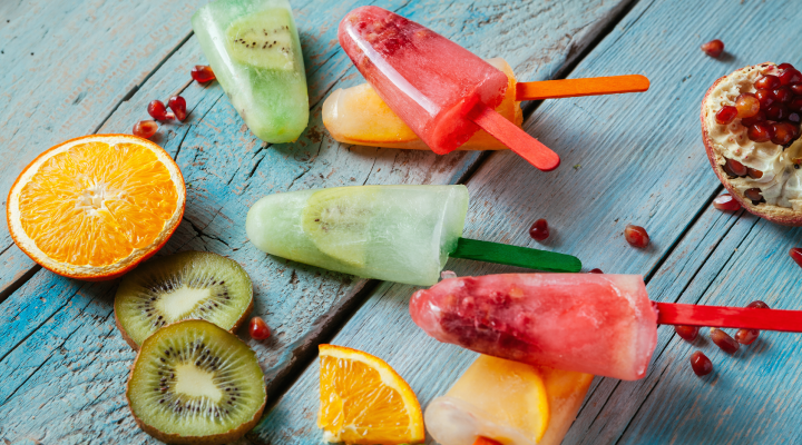 3 Homemade Healthy Popsicles