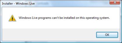 Windows Live Writer Beta does not work in Vista 64-bit