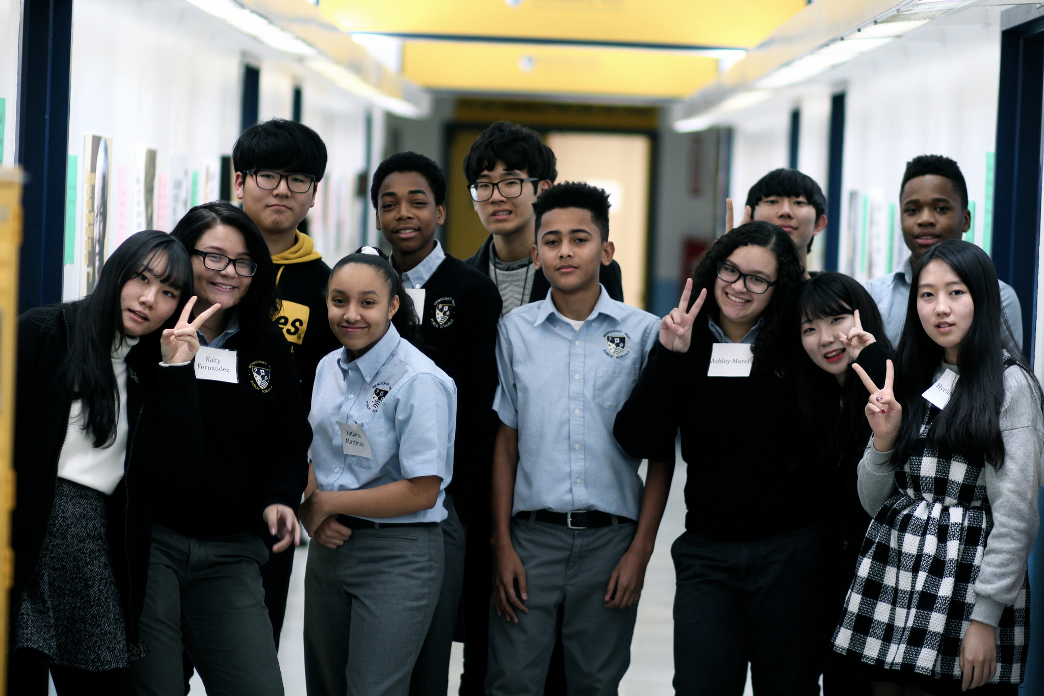 Cultural Exchange: Students From Korean High School Visit ...