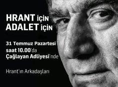 Hrant'ın Arkadaşları: Çağlayan Adliyesi'ndeyiz!