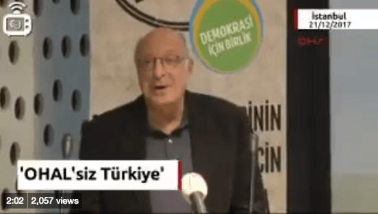 Demokrasi İçin Birlik, olağanüstü halin kalkması talebiyle 'OHAL'siz Türkiye istiyoruz' kampanyası başlattı