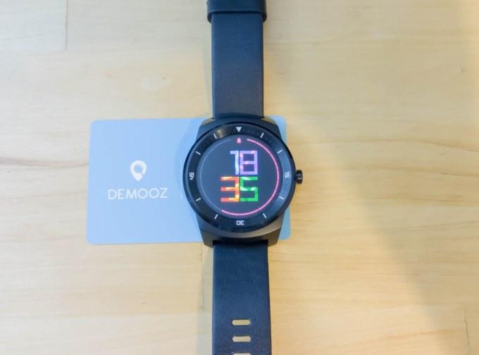 Testez la LG G Watch R