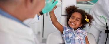 consulta ao dentista para crianças