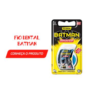 Fio Dental Batman - Como evitar que seu filho tenha cárie?