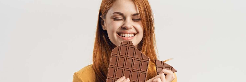chocolate e a saúde bucal